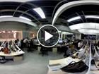 Conheça a redação que nunca desliga em todos os ângulos, no vídeo 360° (GloboNews)