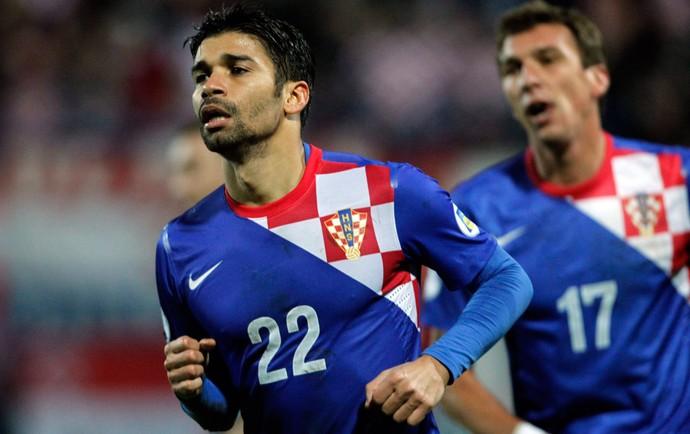 eduardo da Silva gol Croácia (Foto: Reuters)