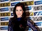 Sem Fiuk, Sophia Abrahão usa look curtinho em show