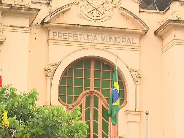 Palácio Rio Branco, sede da Prefeitura de Ribeirão Preto (Foto: Reprodução/EPTV)