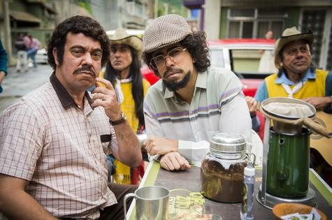 Márcio Vito e Marcius Melhem em 'Tá no ar: a TV na TV' (Foto: João Miguel Júnior/ TV Globo)