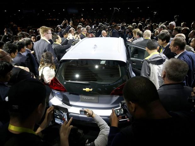 Chevrolet Bolt EV custará US$ 30 mil (Foto: REUTERS/Steve Marcus)
