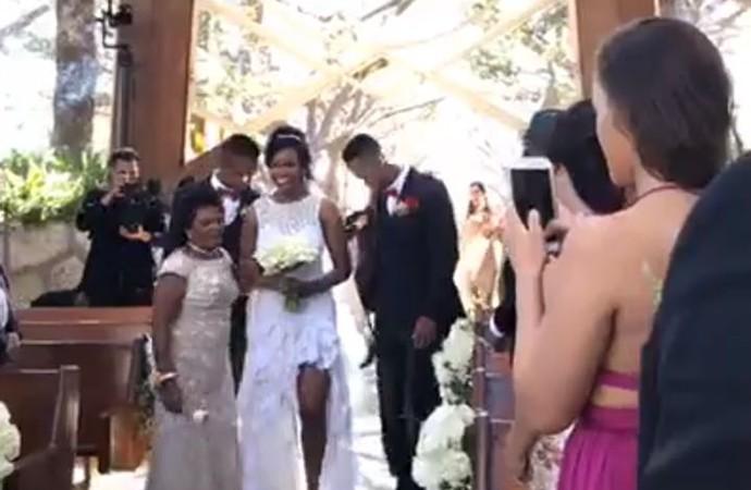 Dayane Anderson Silva casamento (Foto: Reprodução Instagram)