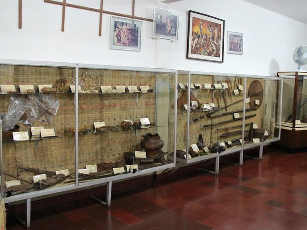 Museu do índio recebe, atualmente, grupos do mundo inteiro, diz funcionários (Foto: Indiara Bessa/G1 AM)
