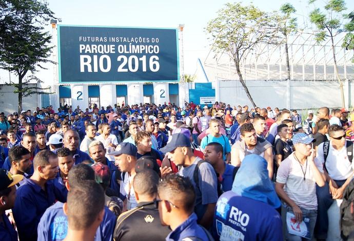 Greve no Parque Olímpico  (Foto: Thierry Gozzer)