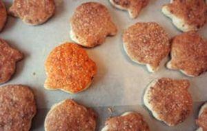 Biscoito caseiro de abóbora com coco