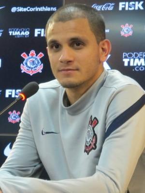Fabio Santos Corinthians (Foto: Gustavo Serbonchini / globoesporte.com)