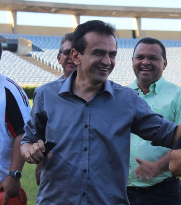 Elizeu Aguiar e Josué Teixeira (Foto: Emanuele Madeira/GLOBOESPORTE.COM)