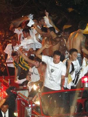 Atlético-MG comemorando título (Foto: Lucas Catta Prêta)