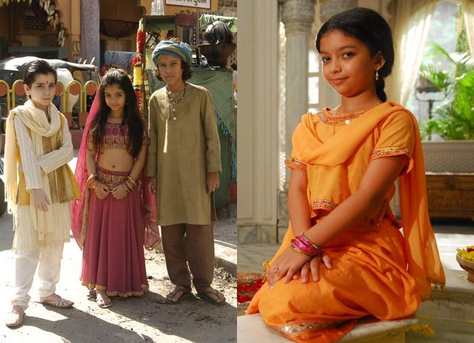 Karina Ferrari interpretou a personagem Anusha em Caminho das Índias (Foto: Thiago Prado Neris / João Miguel Júnior / TV Globo)