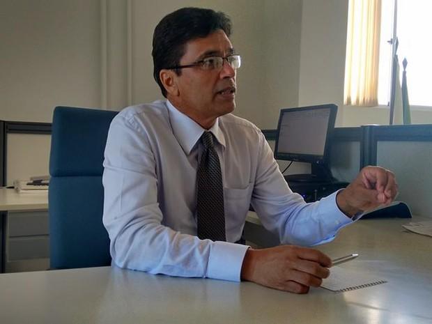 Superintendente Regional da Fazenda em Valadares, Marcos Vinícius da Cunha. (Foto: Diego Souza/G1)