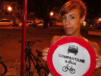 Carioca Rosa Antunes disse que vai levar ideia para sua cidade (Foto: Luna Markman/G1)