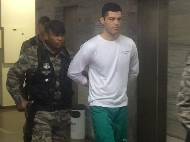 Tiago Henrique Gomes da Rocha, de 28 anos, apontado como o serial killer de Goiânia (Foto: Vitor Santana/G1)