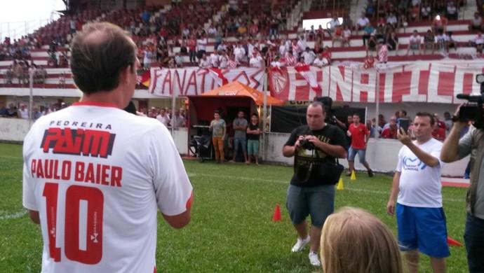 Paulo Baier São Luiz Divisão de Acesso Gauchão (Foto: Everson Dornelles/RBS TV)