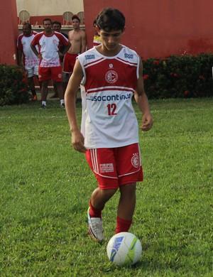 João Pedro, da base do 4 de Julho (Foto: Wenner Tito)