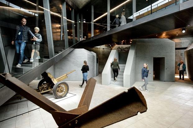 BIG cria museu invisível incrustado em montanha na Dinamarca (Foto: Divulgação)