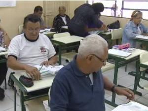 Educação de Jovens e Adultos EJA (Foto: Reprodução/TV Vanguarda)