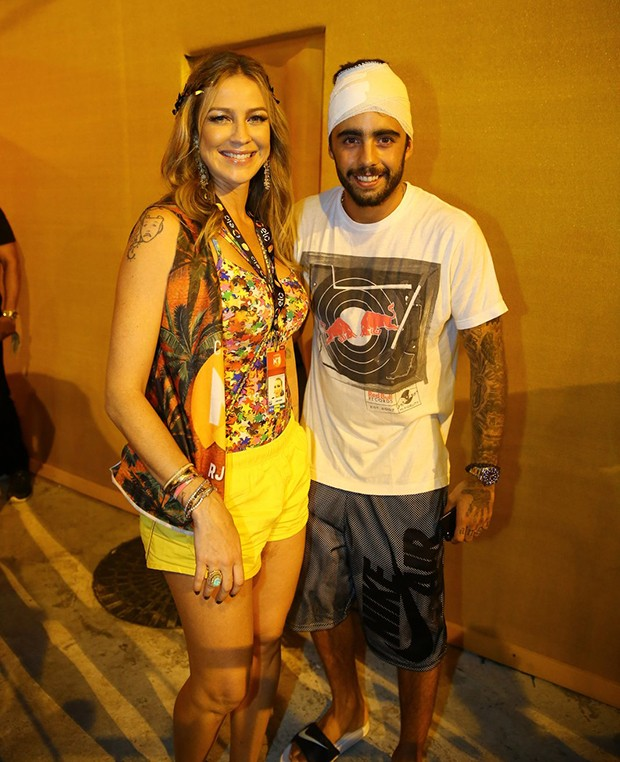 Luana Piovani e Pedro Scooby (Foto: J Humberto / AgNews)