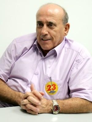 Mário Português é candidato pelo PPS (Foto: Jenifer Zambiazzi/G1)