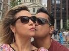 Carla Perez e Xanddy curtem férias em Londres: 'Só love'