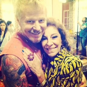 Miguel Falabella e Marília Pêra (Foto: Instagram / Reprodução)