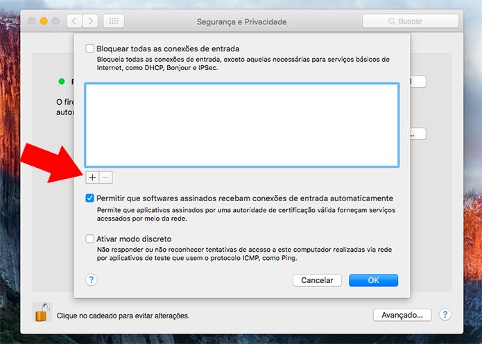 Adicione um novo app à lista de exceções (Foto: Reprodução/Paulo Alves) (Foto: Adicione um novo app à lista de exceções (Foto: Reprodução/Paulo Alves))