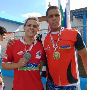 No 1º dia de disputas, natação de PP fatura 20 medalhas (Foto: Marcos Chicalé / Semepp)