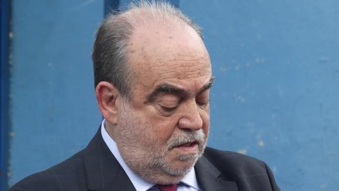 Delfim Cardoso, presidente da Federação Catarinense e vice da CBF (Foto: Guilherme Frossard)