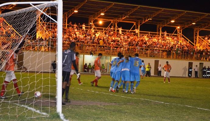 Náutico-RR e Paysandu no Ribeirão pela Copa Verde (Foto: Herianne Cantanhede/GloboEsporte.com)