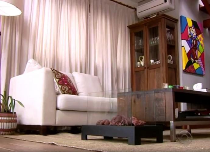 Você pode misturar cores frias e quentes, diz arquiteta (Foto: RBS TV/Reprodução)