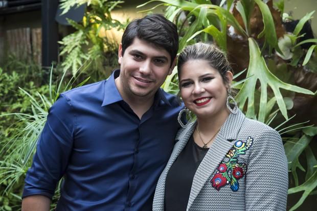 Yugnir Ângelo e Marília Mendonça (Foto: Caio Duran/Brazil News)