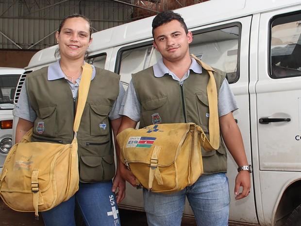 Agentes endemias Juiz de Fora (Foto: Gil Velloso/ Ascom PJF)