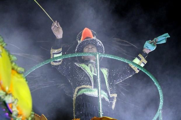 Elymar Santos no desfile da Imperatriz (Foto: Marcos Ferreira/Brazil news)