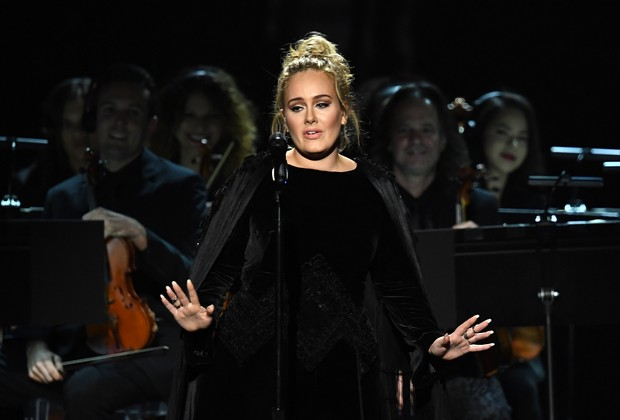 Adele (Foto: KEVIN WINTER / GETTY IMAGES NORTH AMERICA / AFP)