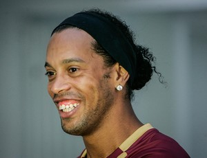 Ronaldinho Ga&#250;cho, meia do Atl&#233;tico-MG (Foto: Bruno Cantini / Flickr do Atl&#233;tico-MG)