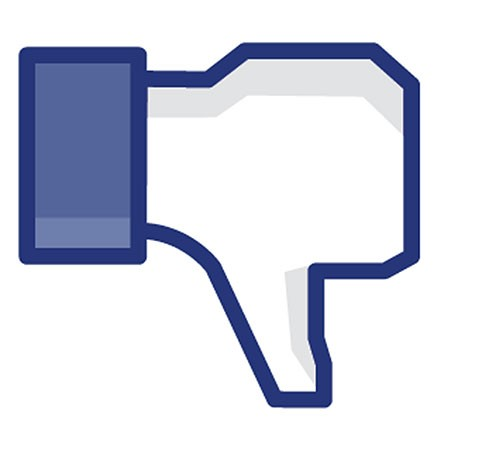 """Botão de """"não curti"""" (deslike) do Facebook (Foto: Reprodução)"""