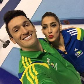 Diego e Daniele Hypolito (Foto: Reprodução / Instagram)