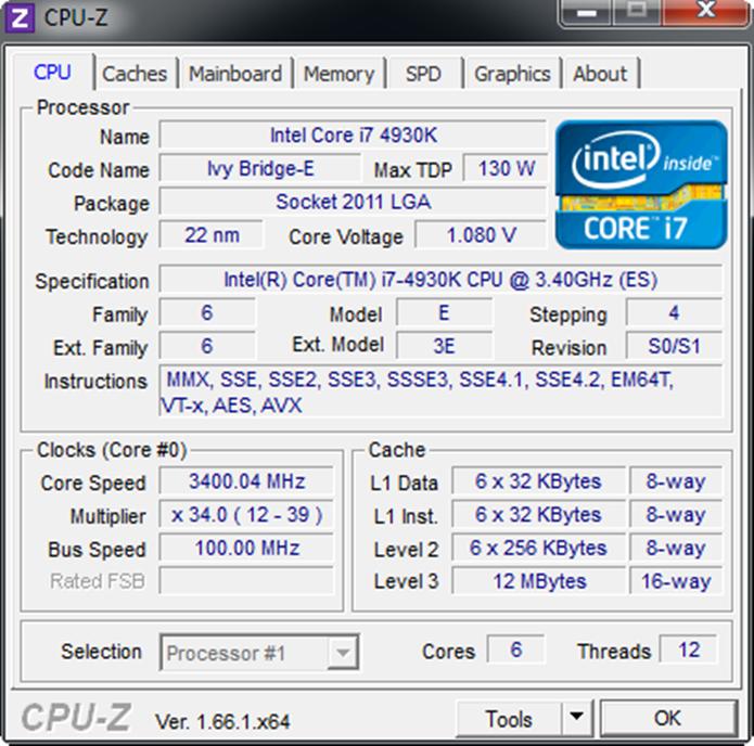 Core-i7-4930K é um dos melhores processadores da atualidade (Foto: Reprodução / extremespec.net )