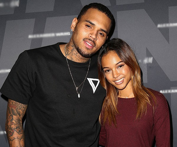 Chris Brown e Karrueche Tran (Foto: Getty Images)