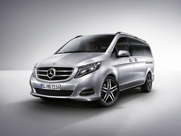 Novo Mercedes Classe V (Foto: Divulgação)