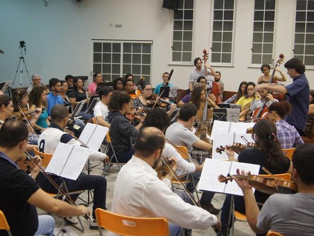 Orquestra Educacional de Piracicaba se apresenta nesta terça-feira (13) no Clube de Campo  (Foto: Divulgação)