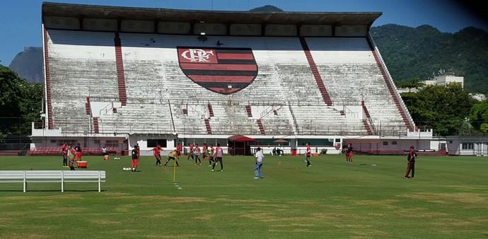 Treino Flamengo - Gavea (Foto: Gustavo Rotstein)