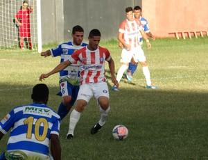 Lala, atacante do Altinho (Foto: Vital Florêncio / GloboEsporte.com)