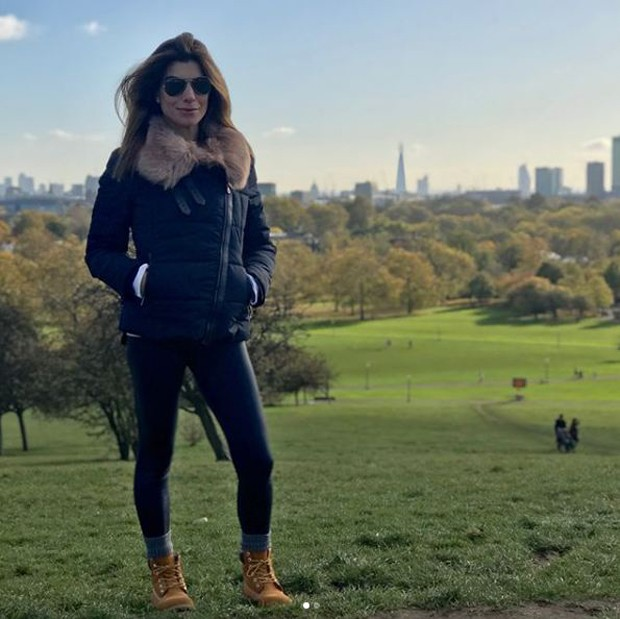 Joana Balaguer em Londres (Foto: Reprodução/Instagram)