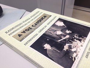 """Livro """"Reminiscências de um Jornalista"""" será lançado no dia 4 de agosto (Foto: Fabiana Figueiredo/G1)"""