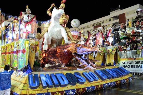 'Unidos do Buritizal' representa a criação do mundo indígena (Foto: Arquivo/Unidos do Buritizal)