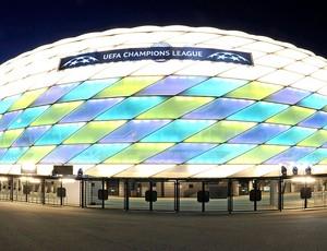 estádio Allianz Arena final da Liga  (Foto: EFE)