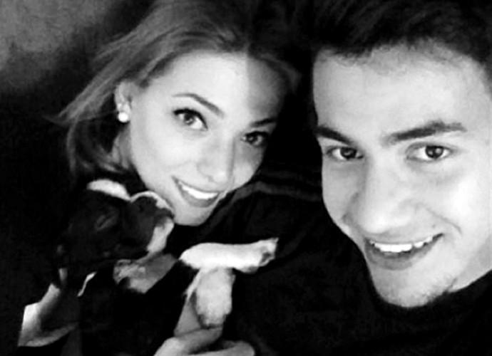 Saimon Grêmio e namorada miss (Foto: Reprodução / Instagram)