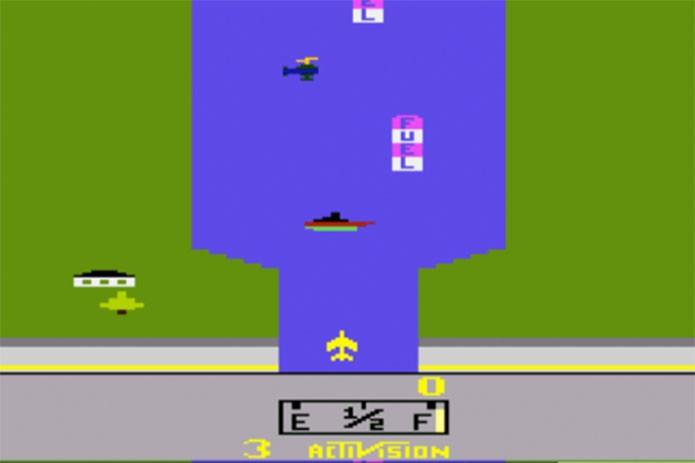 River Raid era um dos clássicos do Atari (Foto: Reprodução/Atari Archives)