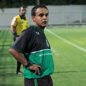 Igor Cearense fez sua estreia como treinador profissional, no AM (Foto: Marcos Dantas)